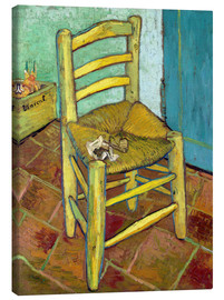 Canvastavla  Van Gogh's Chair - Vincent van Gogh