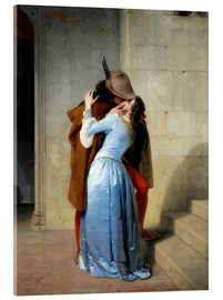Akrylglastavla  The kiss - Francesco Hayez