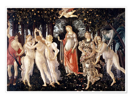 Poster  The Spring - Sandro Botticelli