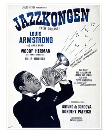 Premiumposter  Louis Armstrong New Orleans
