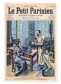 Premiumposter  Pierre and Marie Curie