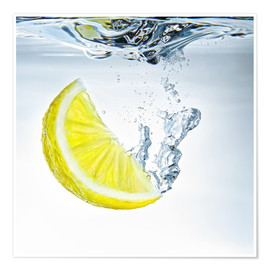 Premiumposter lemon splash