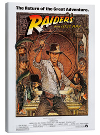 Canvastavla  Indiana Jones - Raiders of the lost ark