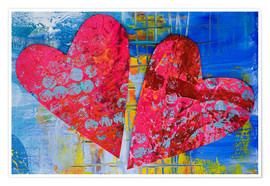 Premiumposter  Colorful Love - Andrea Haase