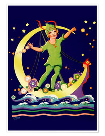 Premiumposter  Peter Pan - Lawson Fenerty