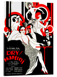 Akrylglastavla  dry Martini - Advertising Collection