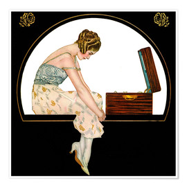 Premiumposter  The music of women - Clarence Coles Phillips