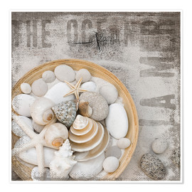 Poster  Beach Treasures - Andrea Haase