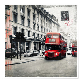 Premiumposter Postcard From London | 03