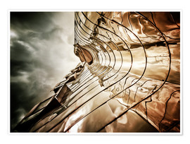 Premiumposter Gehry Duesseldorf | 03 (landscape)