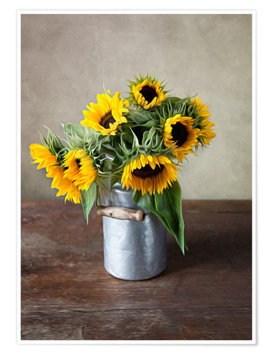Premiumposter Sunflowers 02