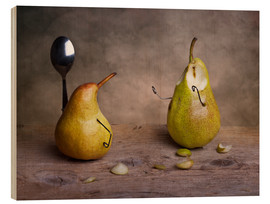 Trätavla  Simple Things - Pears - Nailia Schwarz