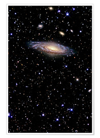 Premiumposter Spiral galaxy in the constellation Pegasus