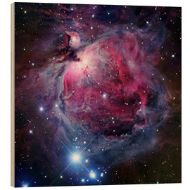 Trätavla  The Orion Nebula - Robert Gendler
