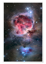 Premiumposter The Orion Nebula