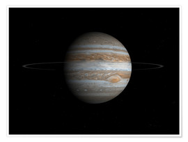 Premiumposter Planet Jupiter