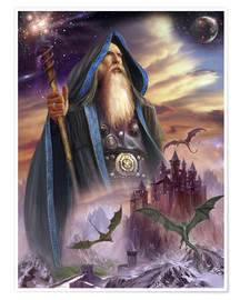 Premiumposter  The high Mage - Dragon Chronicles