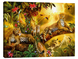 Canvastavla  Jungle Jaguars - Jan Patrik Krasny