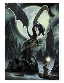 Premiumposter Dragons rock