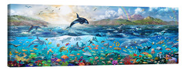 Canvastavla  Ocean Panorama - Adrian Chesterman