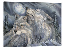 Akrylglastavla  Love is the beginning - Jody Bergsma
