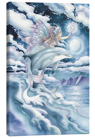 Canvastavla  Wish upon a dolphin star - Jody Bergsma