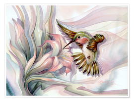 Premiumposter  Spread your wings - Jody Bergsma
