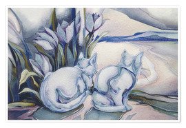 Premiumposter  Miracles come quietly - Jody Bergsma
