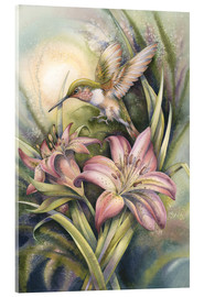 Akrylglastavla  Come Fly with Me - Jody Bergsma