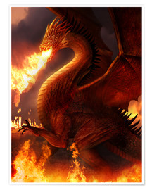 Premiumposter  Lord of the Dragons - Phil Straub