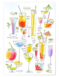 Premiumposter Cocktails