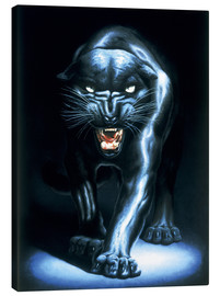 Canvastavla  Black Panther - Adrian Rigby