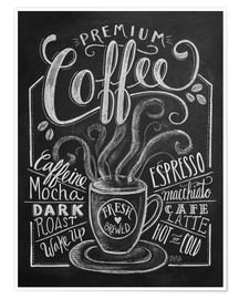 Premiumposter Premium coffee