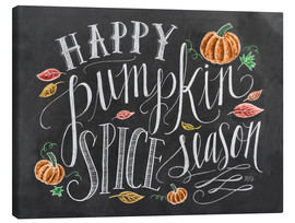 Canvastavla  Happy Pumpkin Spice Season - Lily & Val