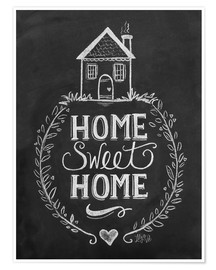 Premiumposter  Home Sweet Home - Lily & Val