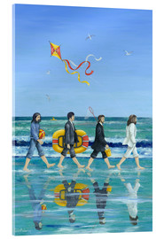 Akrylglastavla  Abbey Road Beach - Peter Adderley