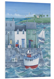 PVC-tavla  Harbour gifts - Peter Adderley