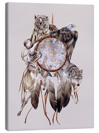 Canvastavla  Dream catcher - Jody Bergsma