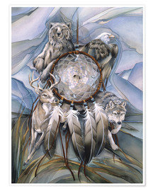 Premiumposter  Dream catcher - Jody Bergsma