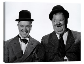 Canvastavla  Laurel and Hardy: Nothing but trouble