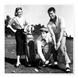 Premiumposter  THE CADDY, Donna Reed, Jerry Lewis, Dean Martin