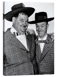 Canvastavla  JITTERBUGS, Oliver Hardy, Stan Laurel