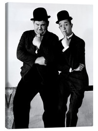 Canvastavla  LIBERTY, Oliver Hardy, Stan Laurel