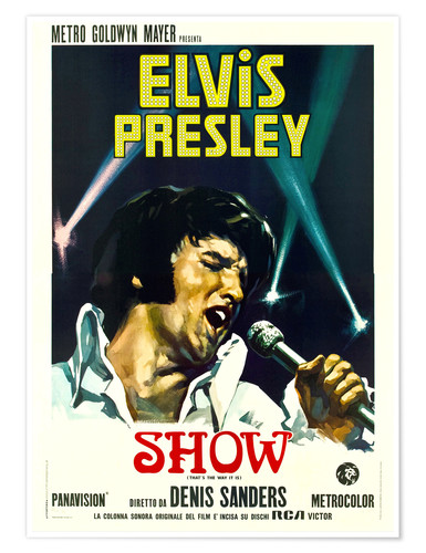 Premiumposter Elvis: That's the way it is