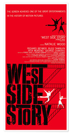 Premiumposter WEST SIDE STORY, Natalie Wood, Richard Beymer, Russ Tamblyn