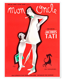 Poster  Min onkel - Mon Oncle