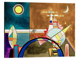 Aluminiumtavla  Pictures at an Exhibition, Picture XVI - Wassily Kandinsky