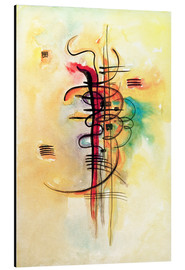Aluminiumtavla  Watercolor no. 326 - Wassily Kandinsky
