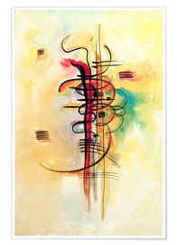 Poster  Watercolor no. 326 - Wassily Kandinsky