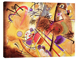 Canvastavla  Small dream in red - Wassily Kandinsky